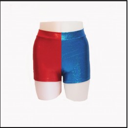 Booty Shorts - Half and Half colour